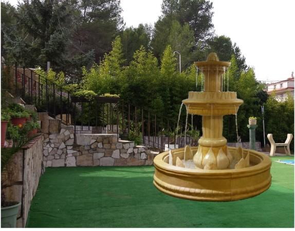 Venta de fuentes de jardin cascadas fuentes agua terraza - Fuentes decorativas de jardin ...